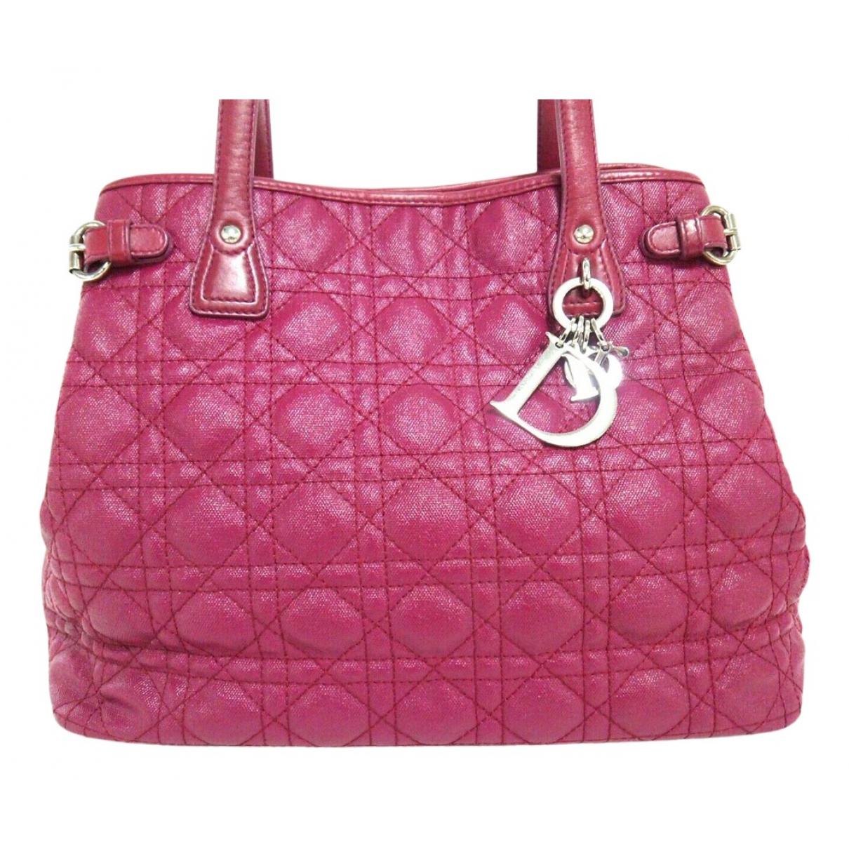 Dior Dior Panarea Pink Leather handbag for Women \N