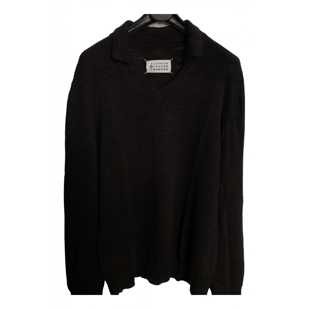 Maison Martin Margiela \N Pullover.Westen.Sweatshirts  in  Anthrazit Baumwolle