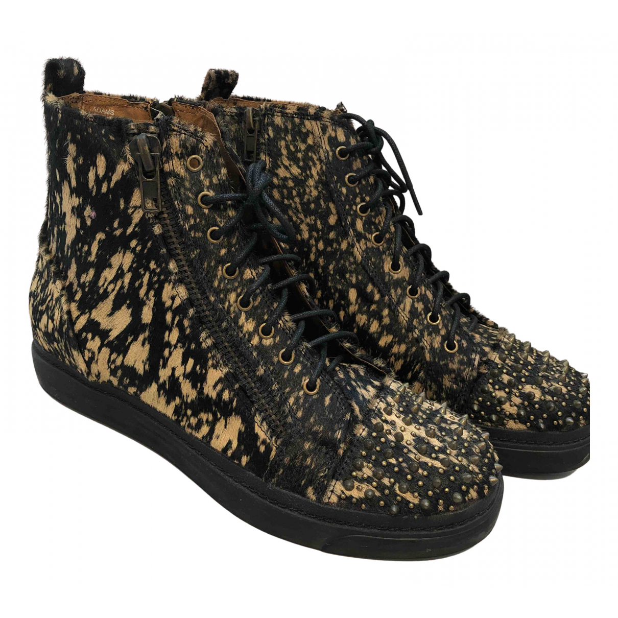 Jeffrey Campbell N Multicolour Pony-style calfskin Ankle boots for Women 40 EU