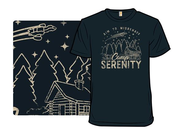 Camp Serenity T Shirt