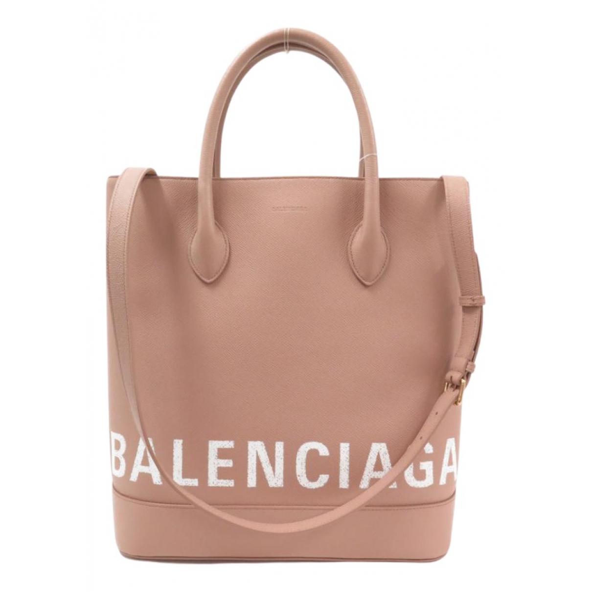 Balenciaga - Sac a main   pour femme en cuir