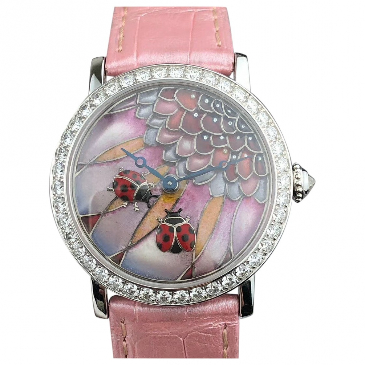 Cartier Rotonde Uhr in Weissgold