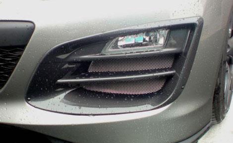 R Magic RMG41411172C01 Front Bumper|Air Duct 01 Type C - Carbon - Mazda RX-8 04-11