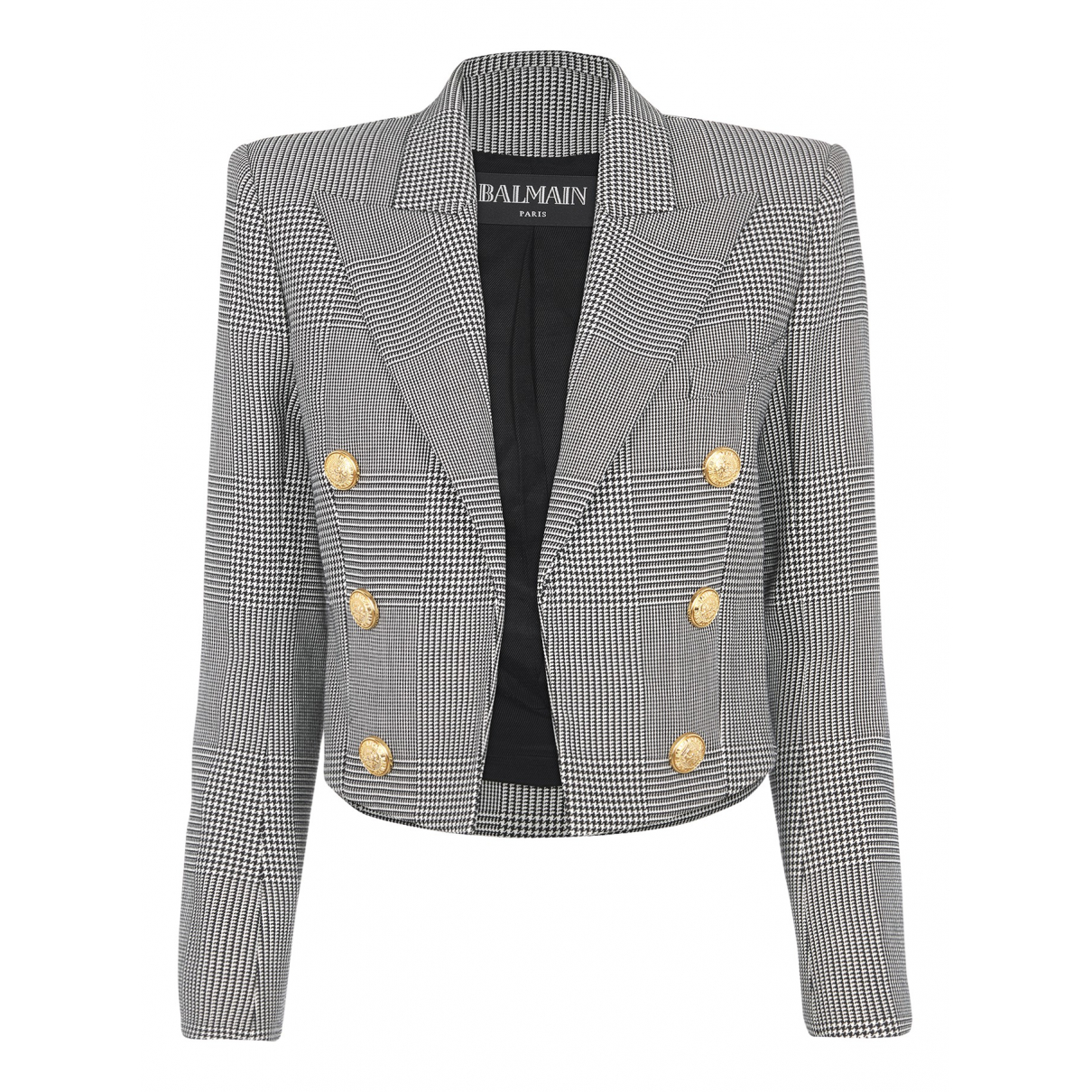 Balmain N Multicolour Wool jacket for Women 10 UK