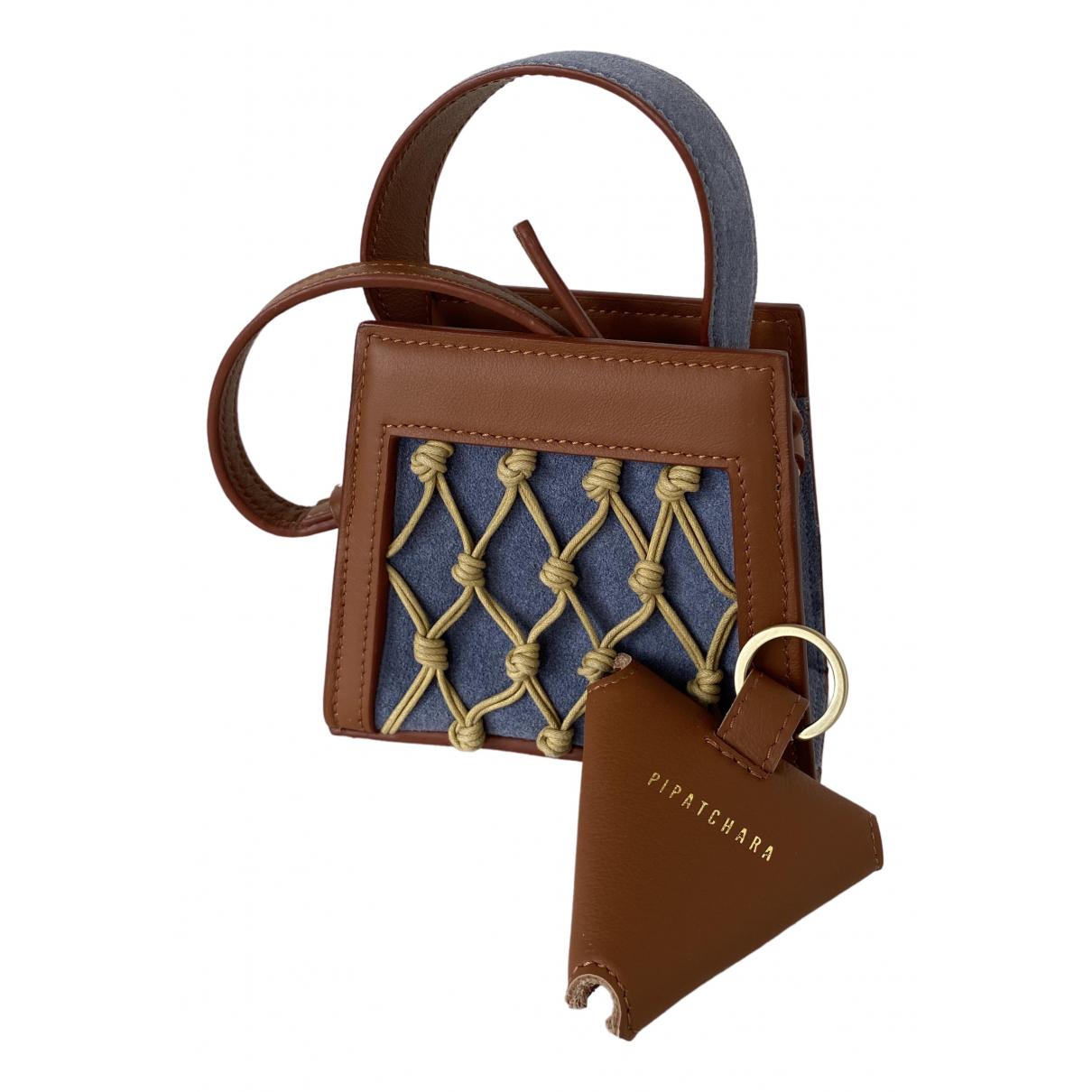 Pipatchara \N Handtasche in  Braun Leder