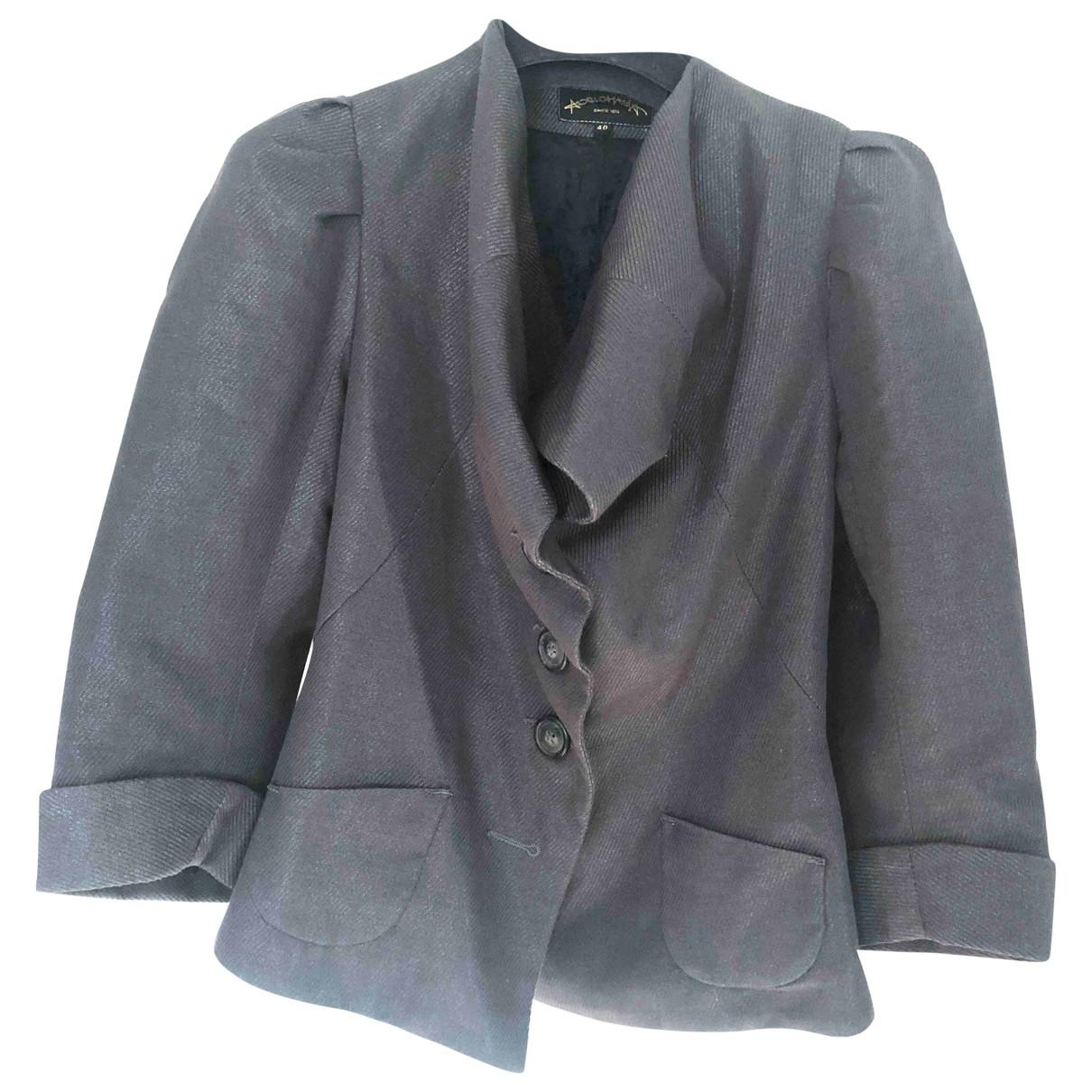 Vivienne Westwood Anglomania \N Jacke in  Grau Baumwolle