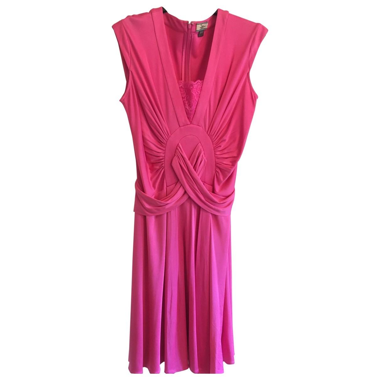 Issa \N Kleid in  Rosa Seide