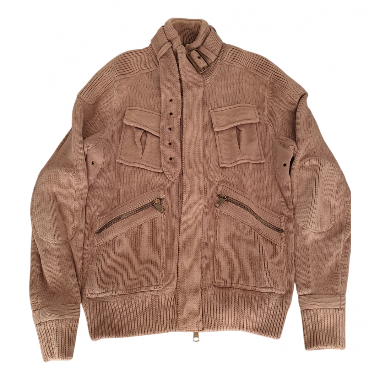 Burberry - Pulls.Gilets.Sweats   pour homme en coton - marron