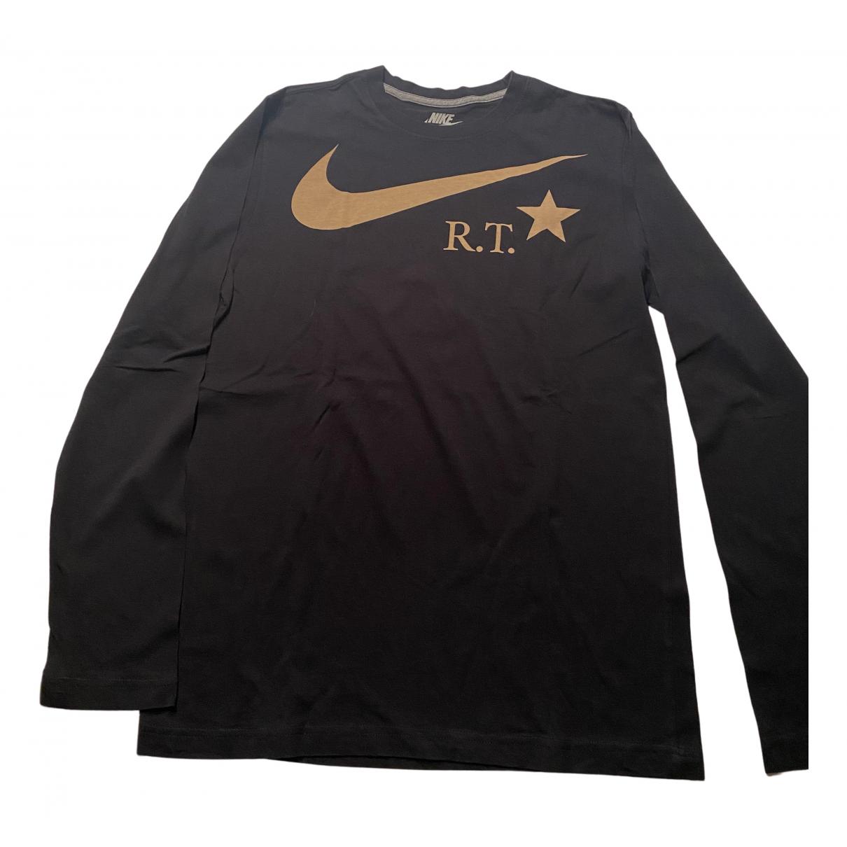 Nike By Riccardo Tisci - Tee shirts   pour homme en coton - noir