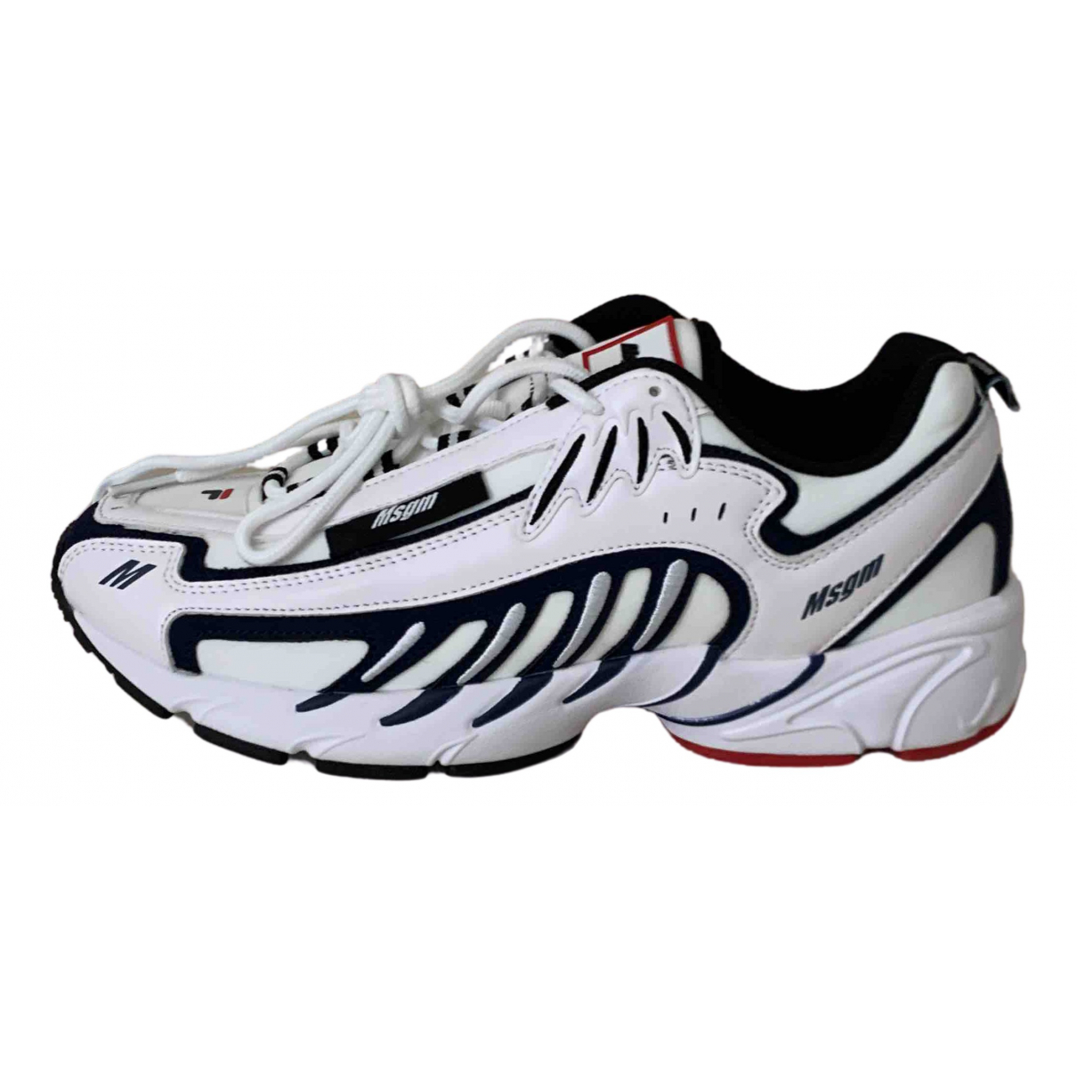 Fila \N White Leather Trainers for Men 43 EU