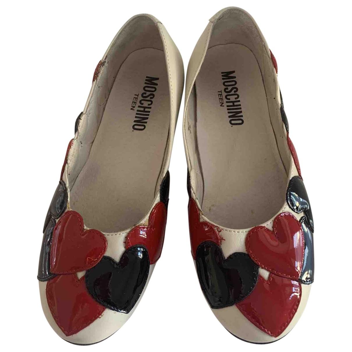 Moschino \N Ballerinas in  Bunt Leder