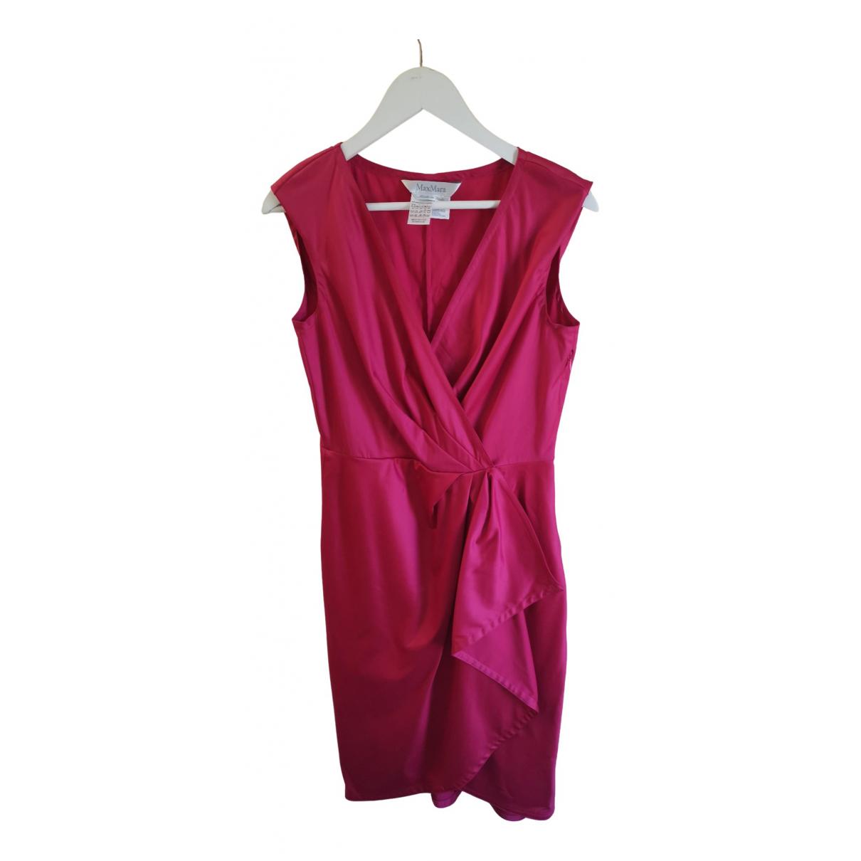 Max Mara \N Kleid in  Rosa Baumwolle