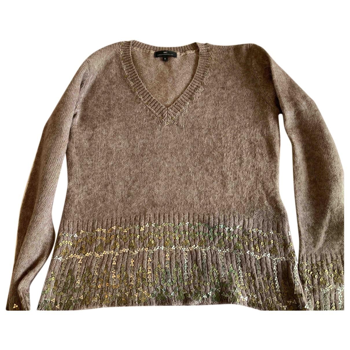 Day Birger & Mikkelsen N Pink Wool Knitwear for Women 42 FR