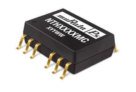 Murata Power Solutions NTE 1W Isolated DC-DC Converter Surface Mount, Voltage in 10.8 → 13.2 V dc, Voltage out