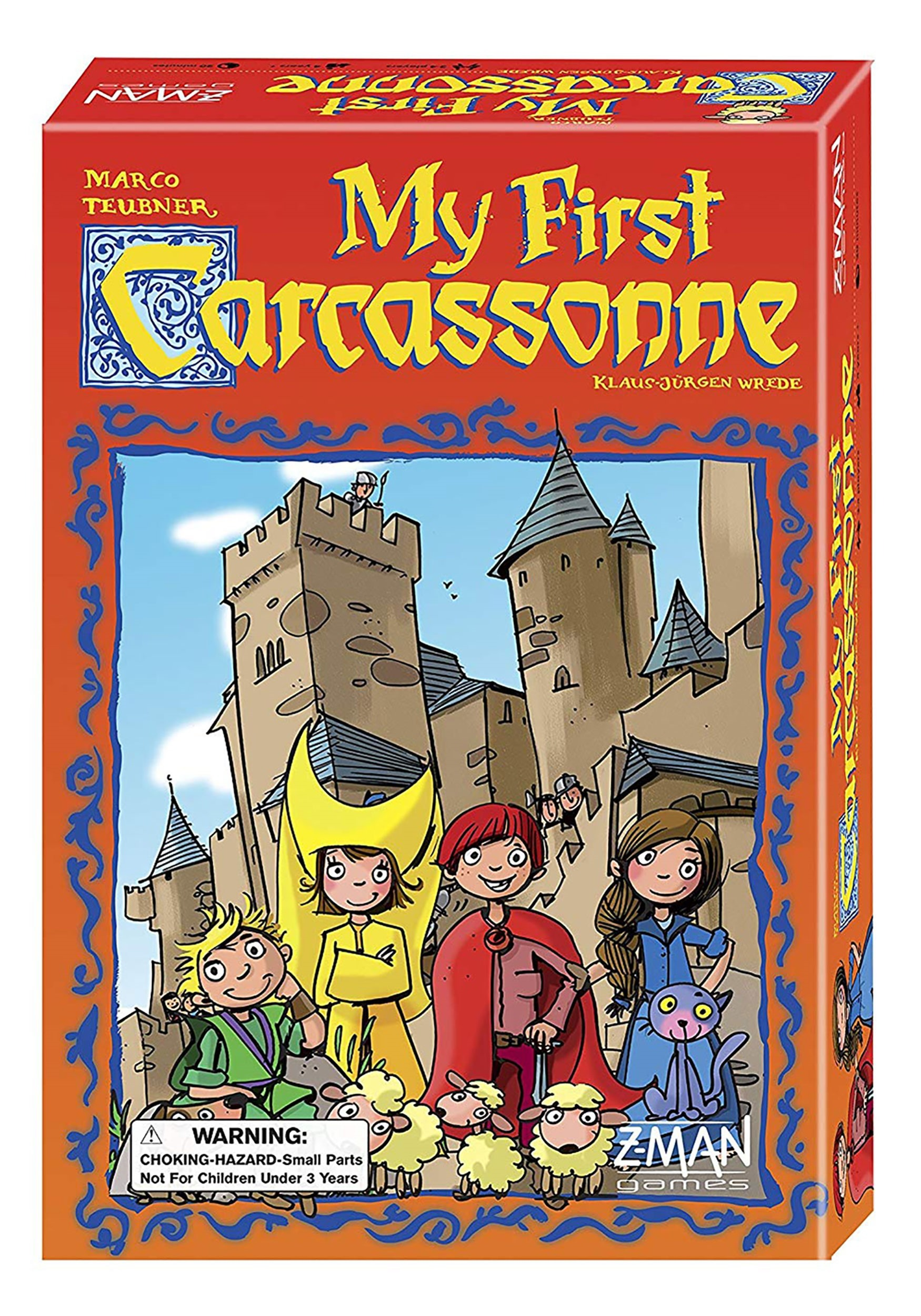 My First Carcassonne Family Board Game