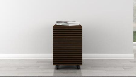 TANGO - PD Tango Collection 2 Drawer Mid - Century Modern Rolling File Pedestal With A Cognac Finish Over Brazilian Cherry