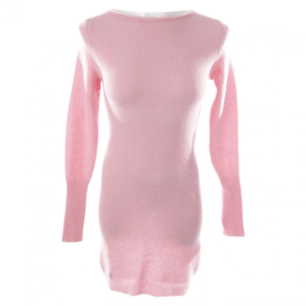 Philipp Plein - Robe   pour femme en cachemire - rose