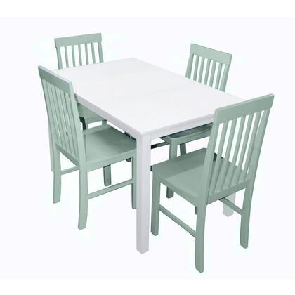 TW485PCSG Greyson 5-Piece Dining Set -