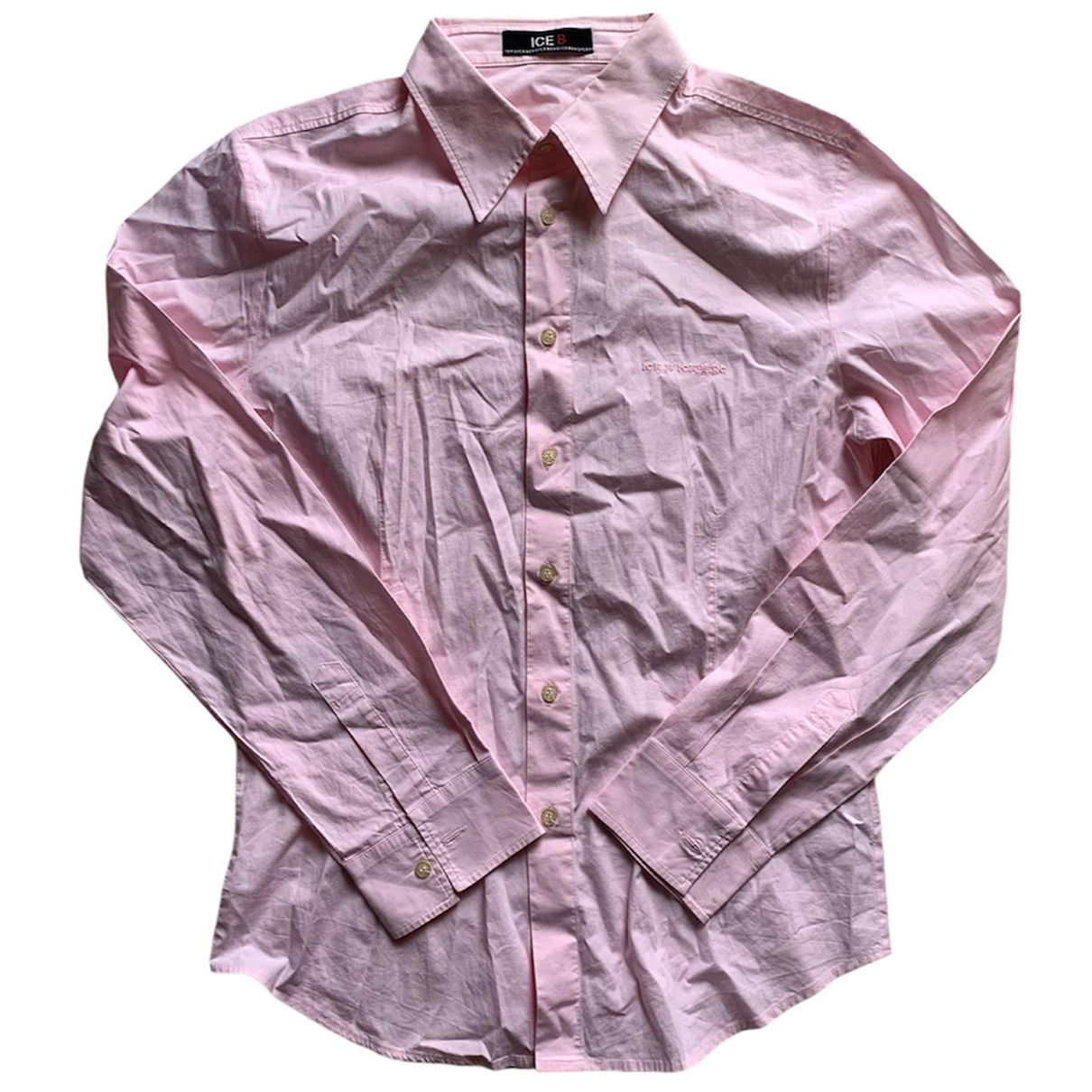 Iceberg - Top   pour femme en coton - rose