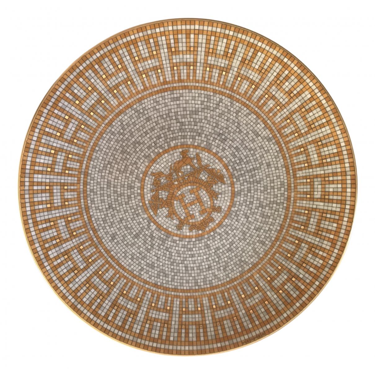 Hermes Mosaique au 24 Tischkultur in Porzellan