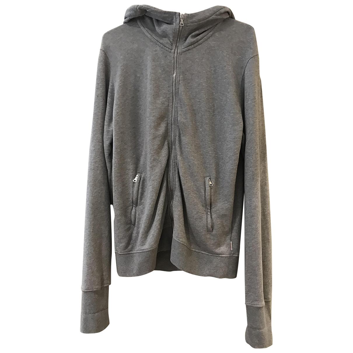 Orlebar Brown \N Pullover.Westen.Sweatshirts  in  Grau Baumwolle
