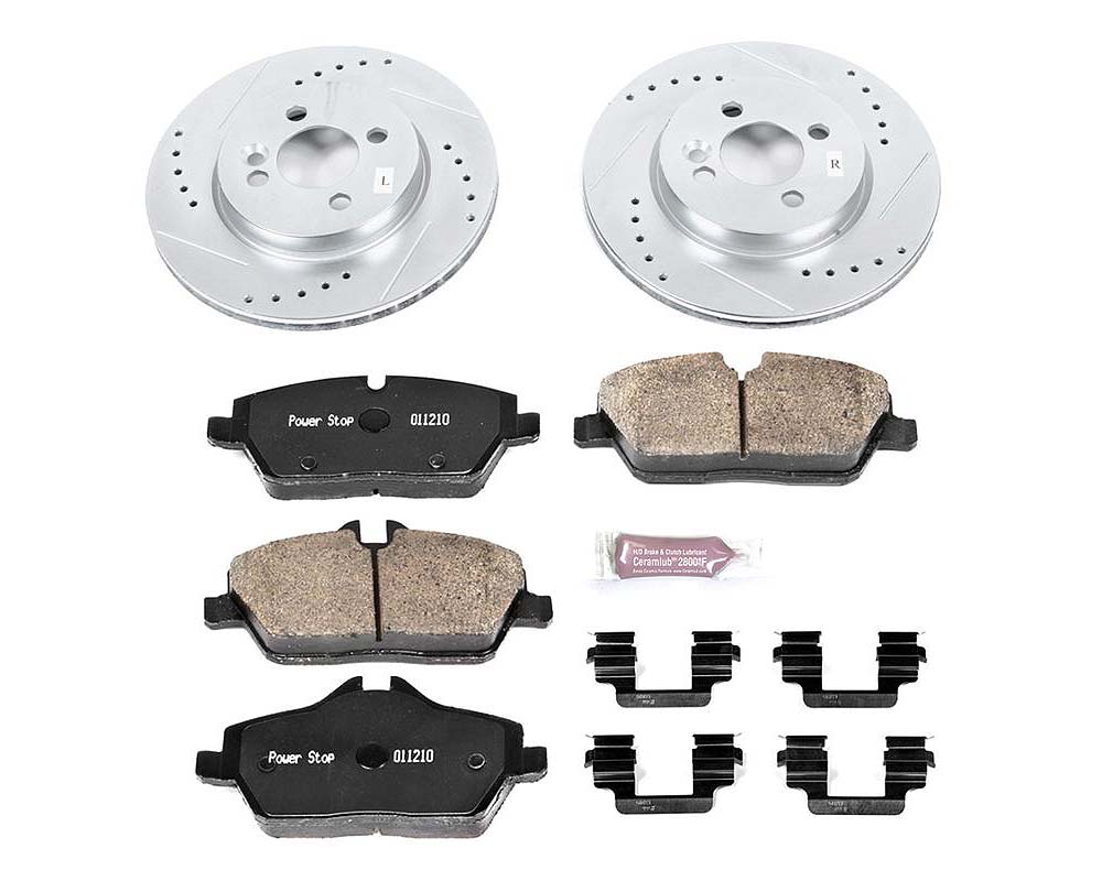Power Stop K6066 Z23 Evolution Sport Brake Kit Front Mini Cooper 2007-2010