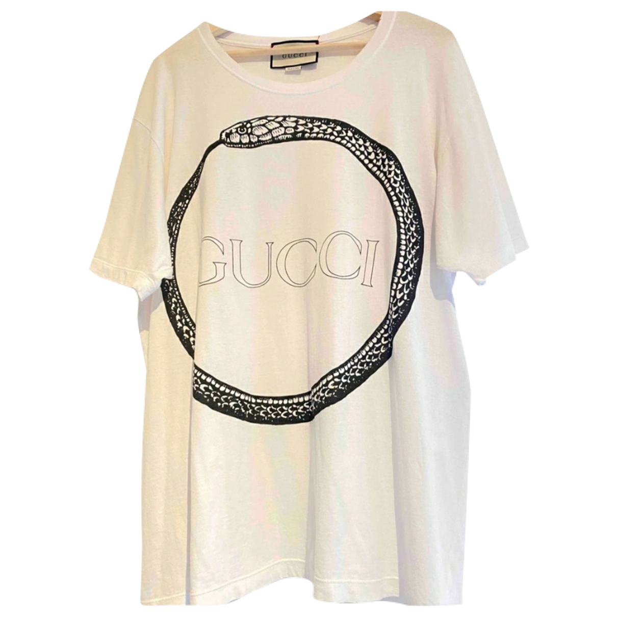 Gucci \N T-Shirts in  Weiss Baumwolle