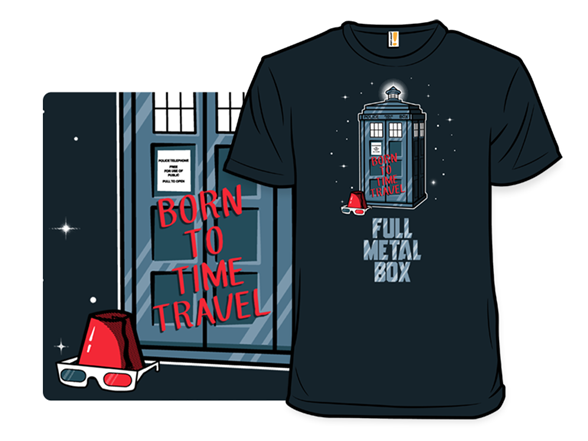 Born To Time Travel T Shirt