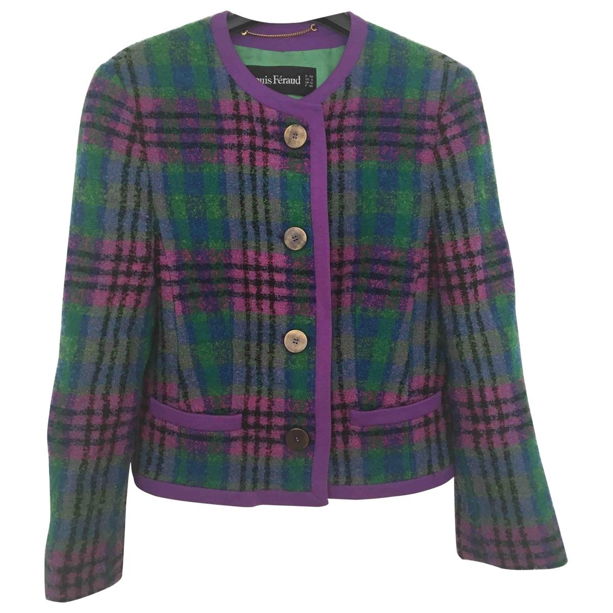 Louis Feraud \N Multicolour Wool jacket for Women 40 FR