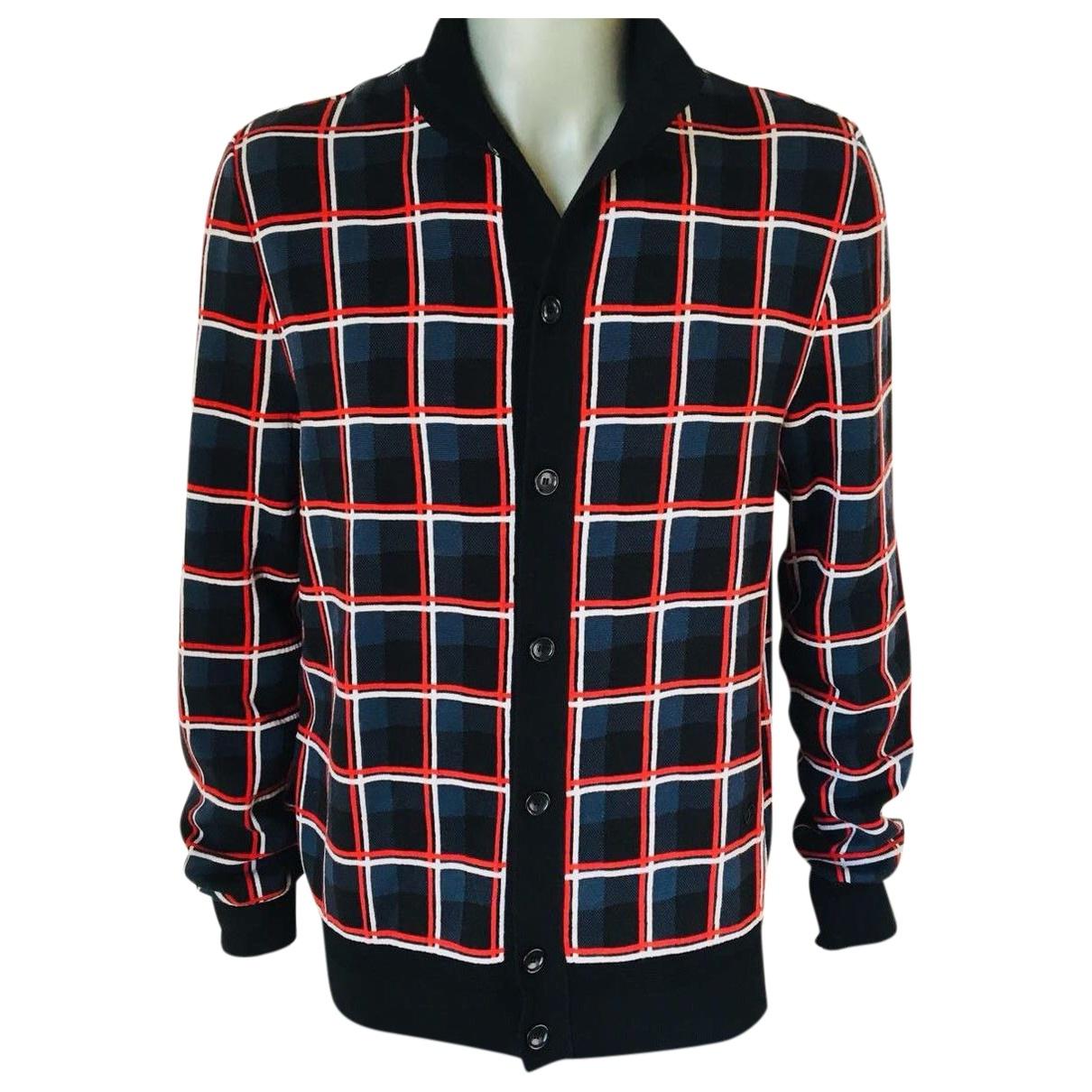 Louis Vuitton \N Pullover.Westen.Sweatshirts  in  Marine Wolle