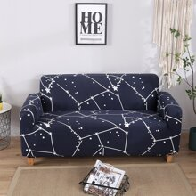 Star Print Stretchy Sofa Cover