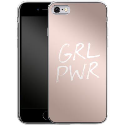Apple iPhone 6 Silikon Handyhuelle - GRLPWR Rose von caseable Designs