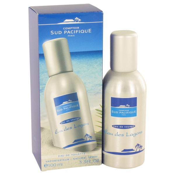 Comptoir Sud Pacifique - Eau Des Lagons : Eau de Toilette Spray 3.4 Oz / 100 ml