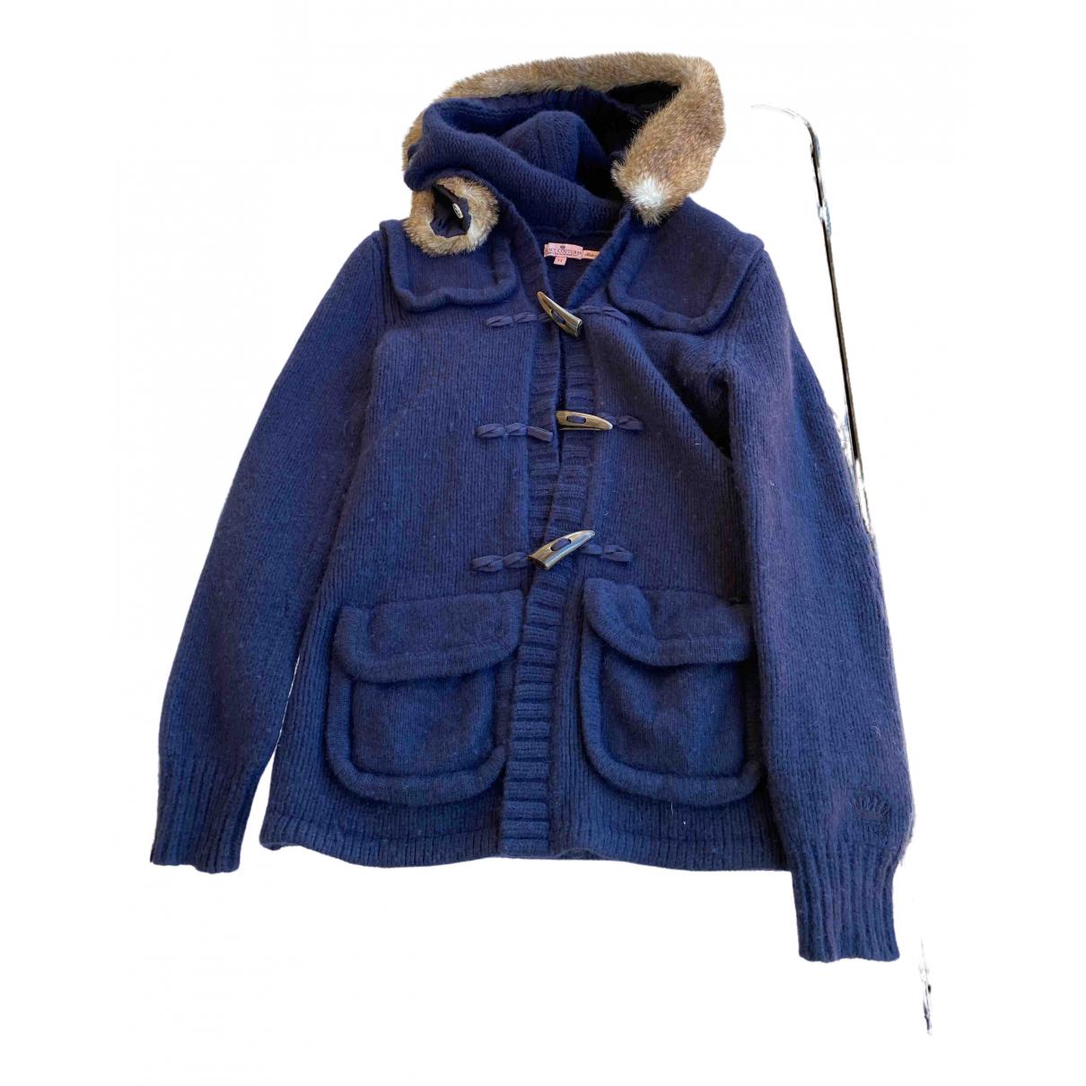 Juicy Couture - Pull   pour femme en laine - bleu