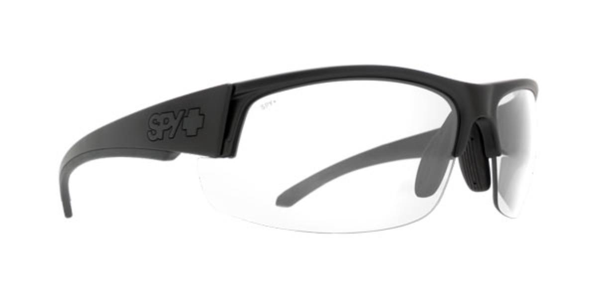 Spy SPRINTER Matte Black Ansi Rx - Clear Men's Sunglasses Black Size 76