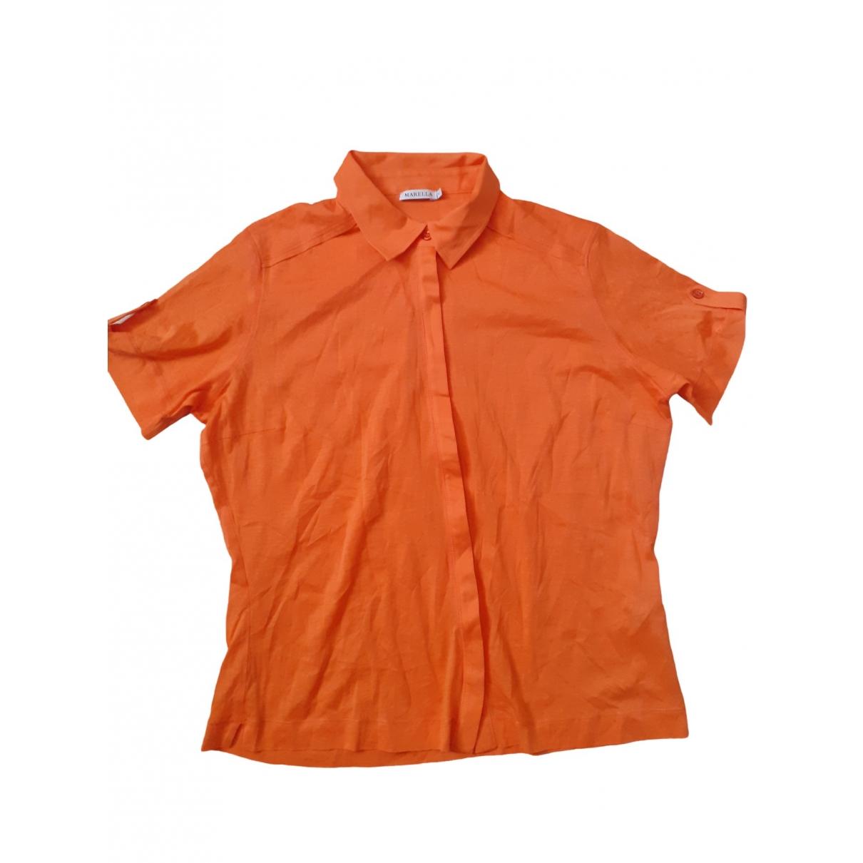 Marella - Top   pour femme - orange