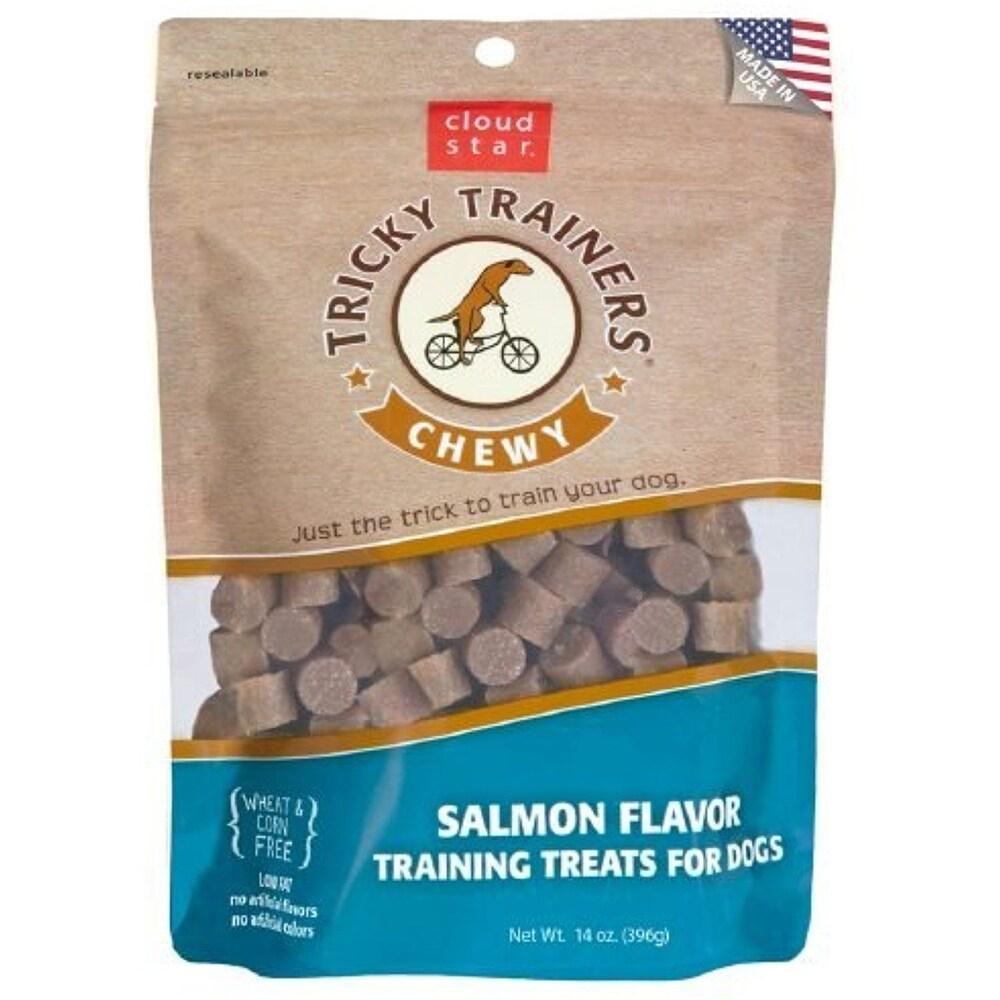 Cloud Star  Chewy Tricky Trainers Salmon 14 oz Dog Treats