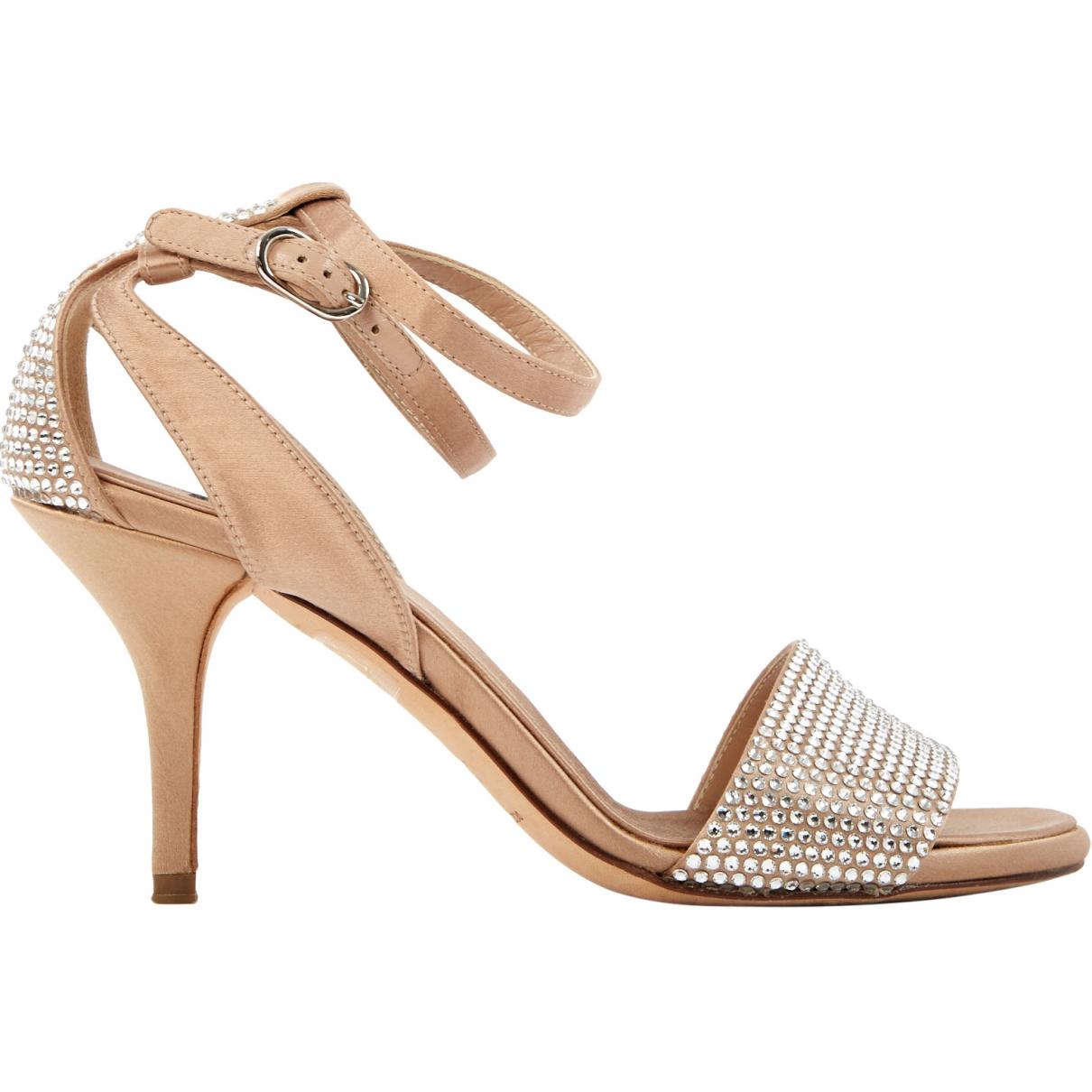 Dolce & Gabbana \N Pink Leather Heels for Women 37 EU