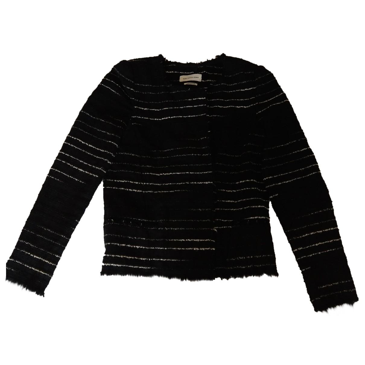 Isabel Marant Etoile \N Black Cotton jacket for Women 38 FR