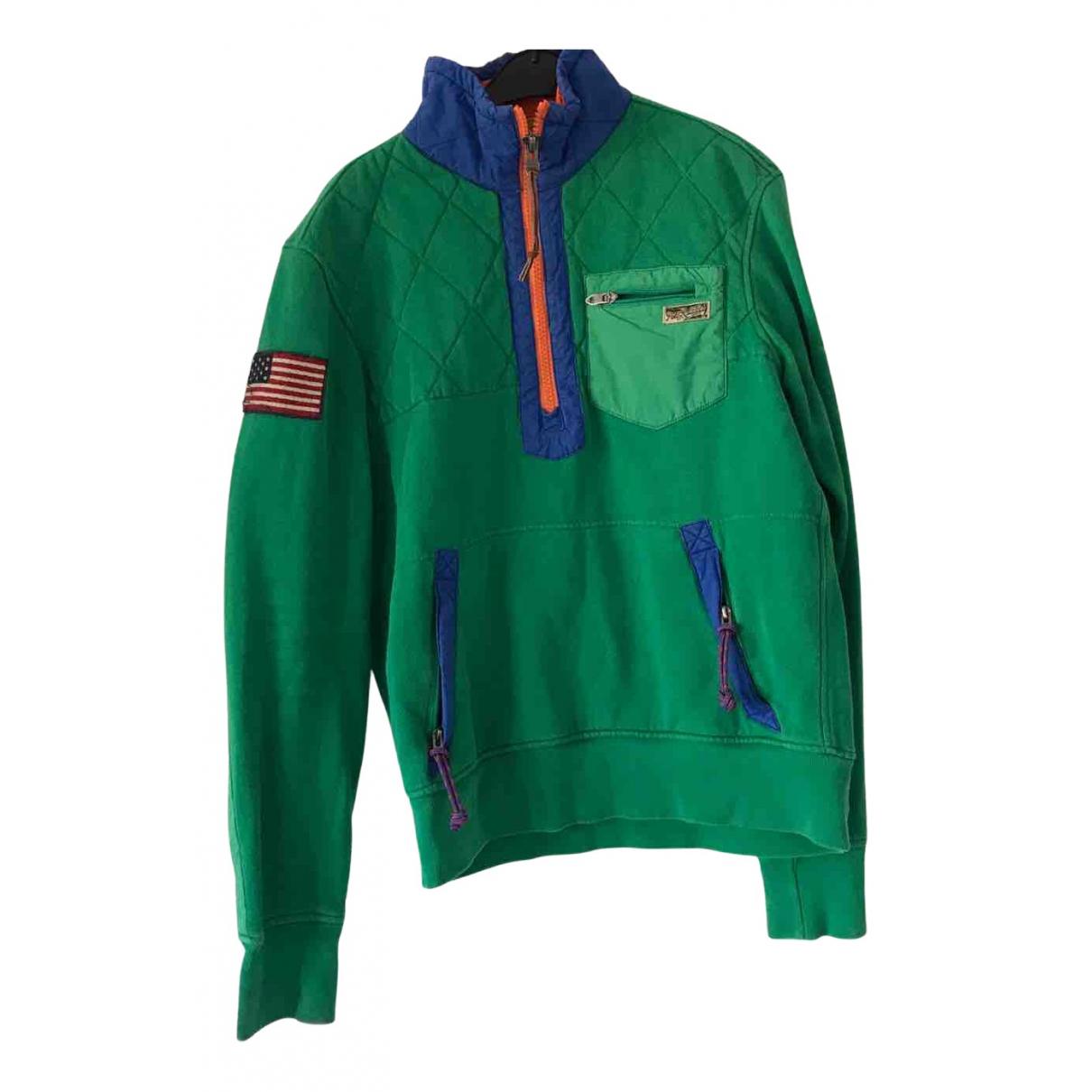 Polo Ralph Lauren \N Pullover.Westen.Sweatshirts  in  Gruen Polyester