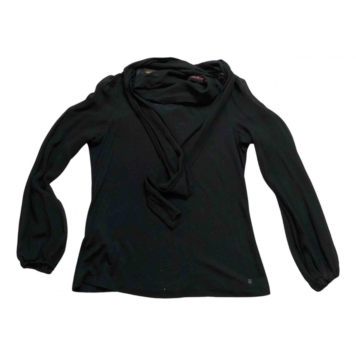 Carolina Herrera - Top   pour femme en coton - noir