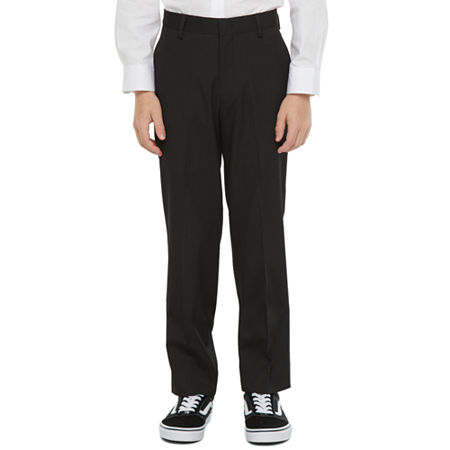 Collection By Michael Strahan Little & Big Suit Pants, 20 , Black