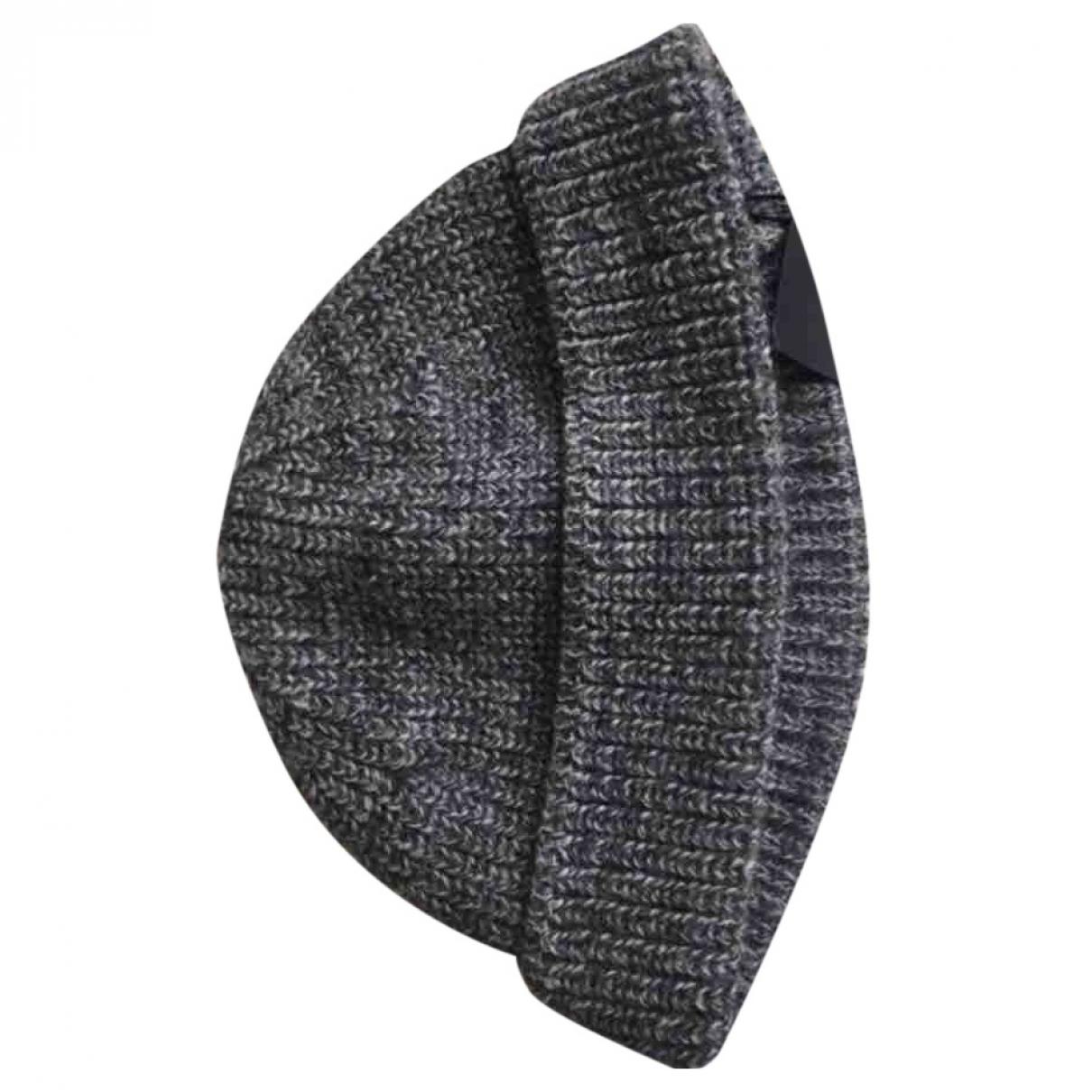 Lanvin \N Anthracite Wool hat & pull on hat for Men M International
