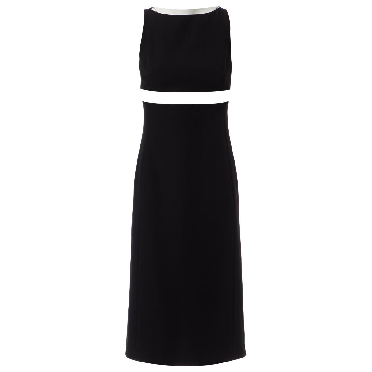 Paco Rabanne \N Kleid in  Schwarz Polyester