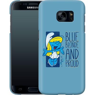 Samsung Galaxy S7 Smartphone Huelle - Blue, Blond and Proud von The Smurfs