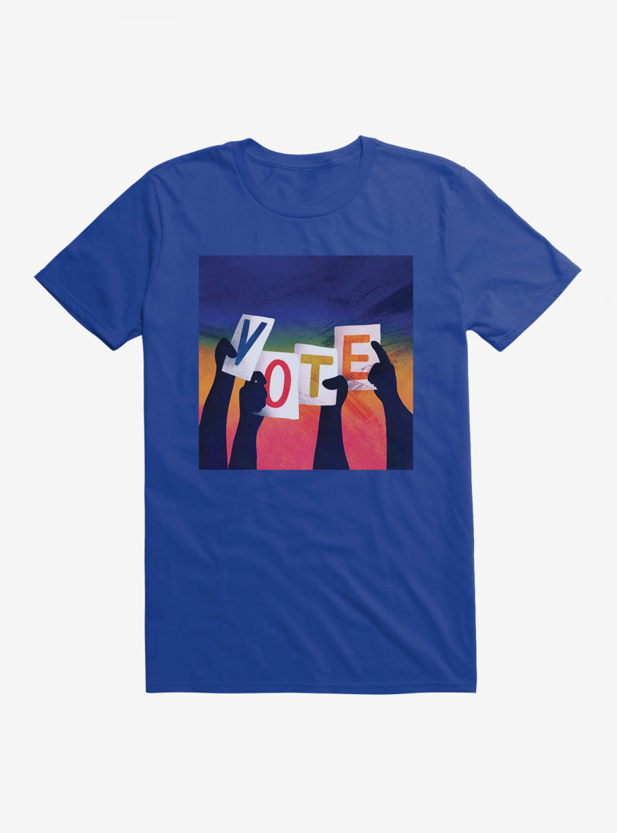 Vote Buttons T-Shirt