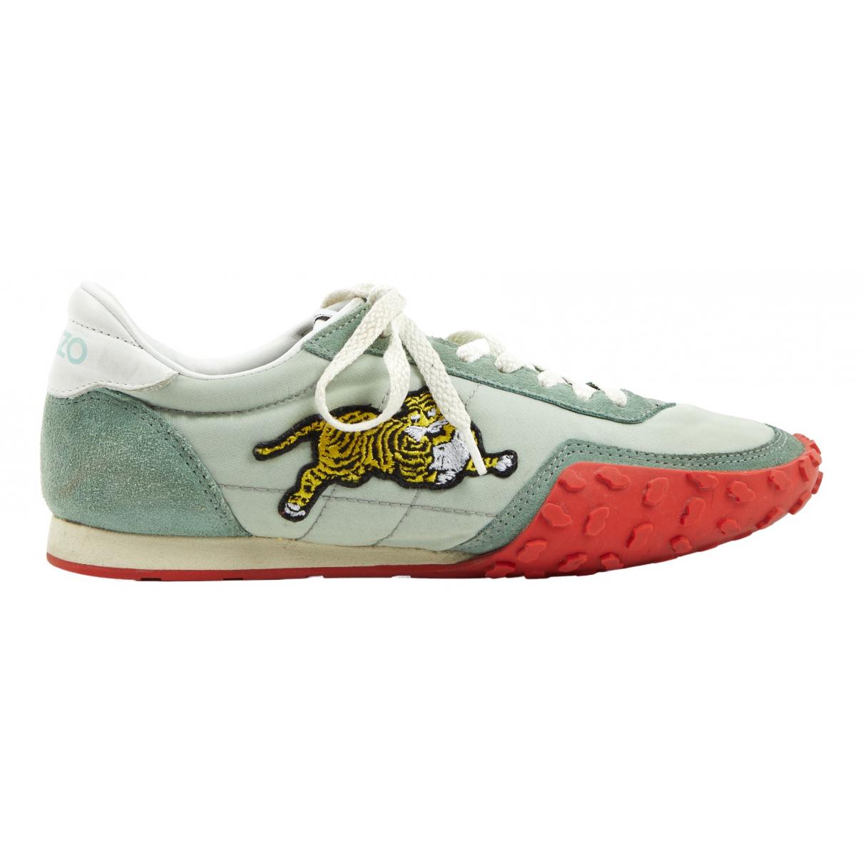 Kenzo \N Sneakers in  Gruen Leinen
