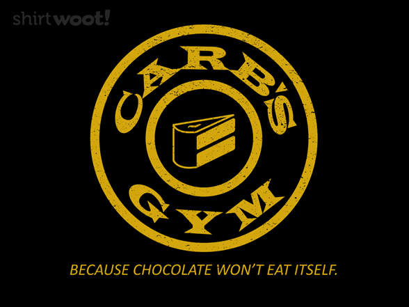 Carb's Gym T Shirt