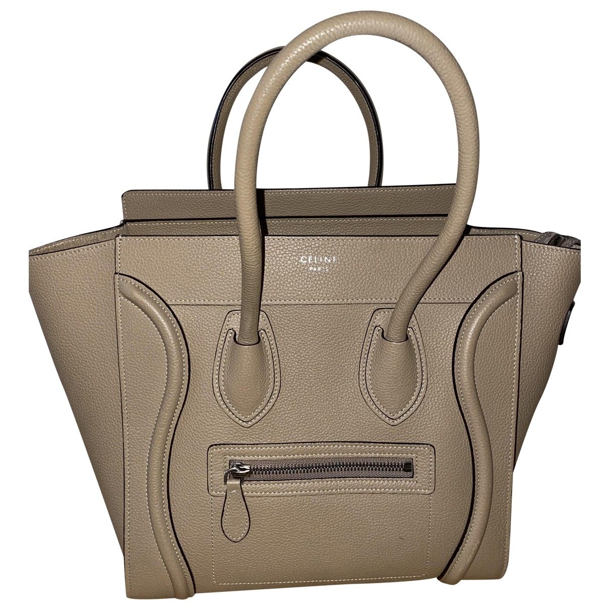 Bolso  Luggage de Cuero Celine