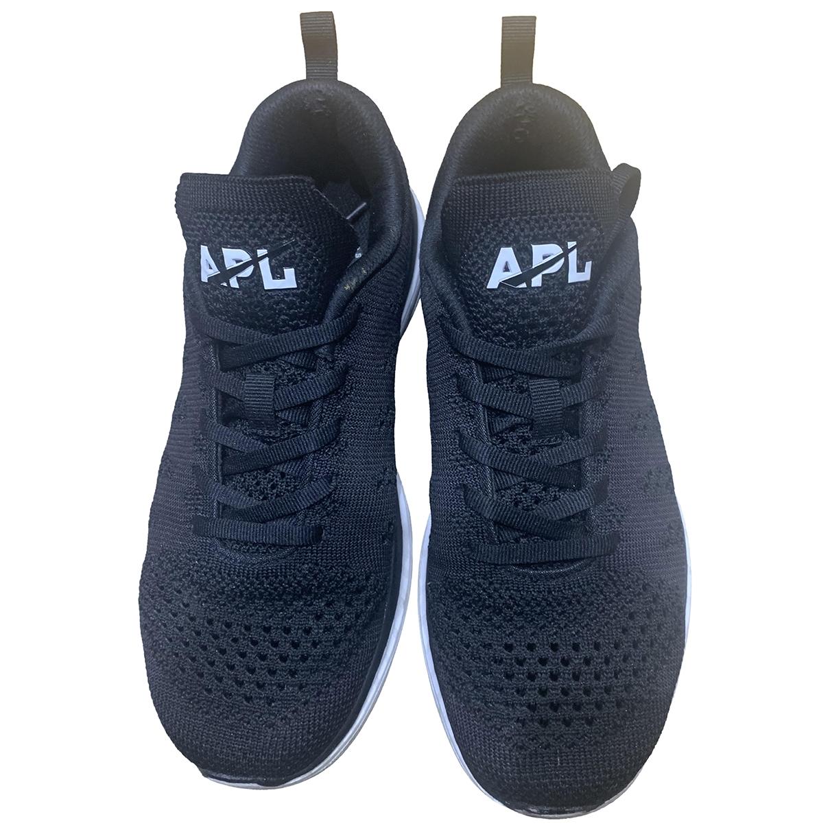 Apl Athletic Propulsion Labs \N Sneakers in  Schwarz Leinen